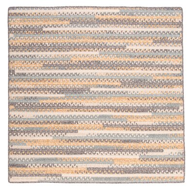 Byron Yellow Area Rug Rug Size: Square 6