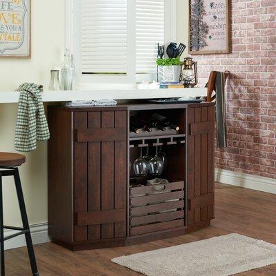 Slatted Cabinet Wine Server