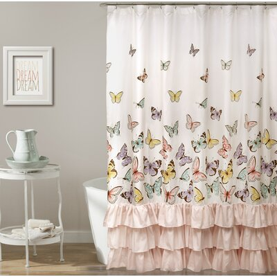 Robichaux Butterfly Shower Curtain
