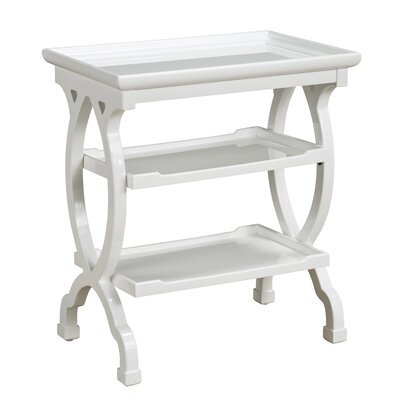 Simoneau 3 Tier End Table