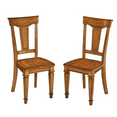 Collette Solid Wood Dining Chair Finish: Oak