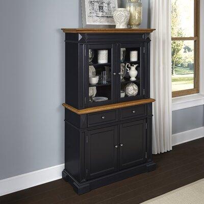 Collette China Cabinet Color: Black
