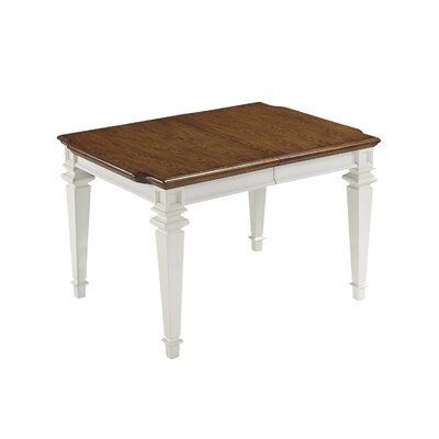 Collette Extendable Dining Table Finish: White