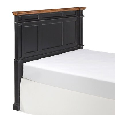 Collette Wood Headboard Size: King/California King, Finish: Black