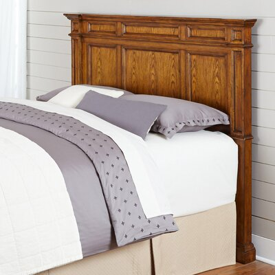 Collette Wood Headboard Size: Queen/Full, Finish: Oak