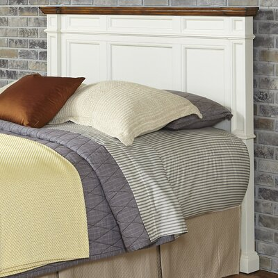 Collette Wood Headboard Size: Queen/Full, Finish: Black