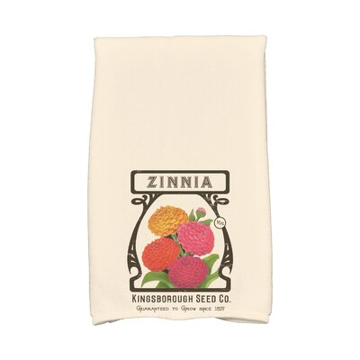 Zinnia Hand Towel Color: Cream/Ivory