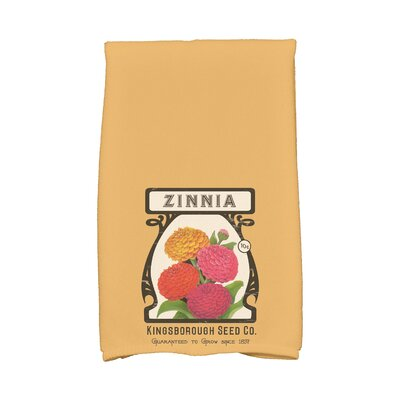 Zinnia Hand Towel Color: Gold