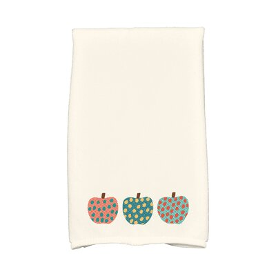 Ames 3 Little Pumpkins Holiday Print Hand Towel Color: Teal