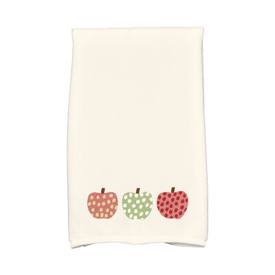 Ames 3 Little Pumpkins Holiday Print Hand Towel Color: Green