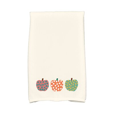 Ames 3 Little Pumpkins Holiday Print Hand Towel Color: Orange