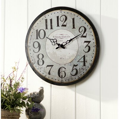 16 Colorado Wall Clock