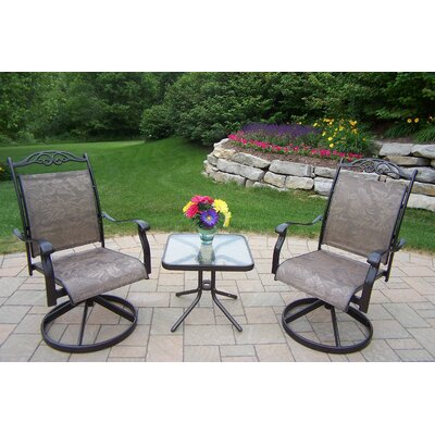 Basile 3 Piece Dining Set Finish: Coffee
