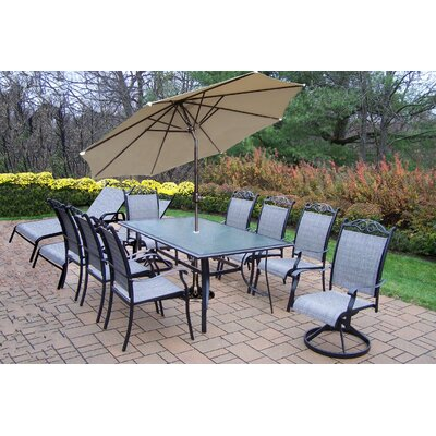 Basile 11 Piece Dining Set