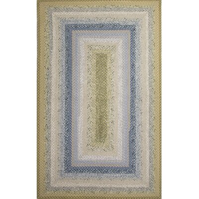 Electa Blue/Green Area Rug Rug Size: 5 x 8