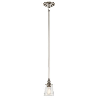 Marseilles 1-Light Mini Pendant Color: Classic Pewter
