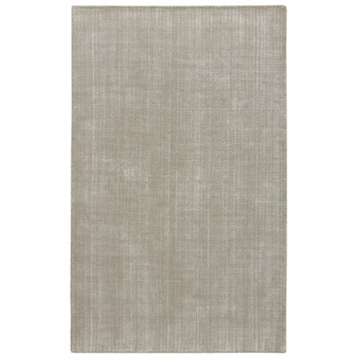 Nan Hand-Loomed Tuffett/Birch Area Rug Rug Size: 8 x 11
