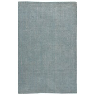 Nan Hand-Loomed Dusty Turquoise/Chateau Gray Area Rug Rug Size: 2 x 3