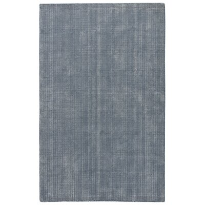 Nan Hand-Loomed China Blue Area Rug Rug Size: 5 x 8