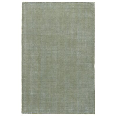 Nan Hand-Loomed Sweet Pea/Cloud Blue Area Rug Rug Size: 5 x 8