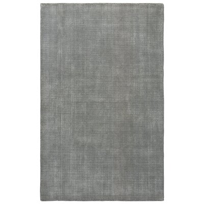Nan Hand-Loomed Frost Gray/Birch Area Rug Rug Size: 9 x 13