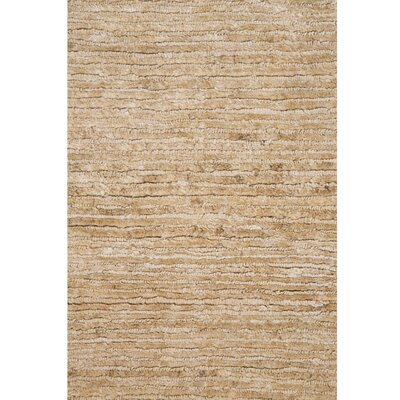 Cassandre Taupe/Ivory Area Rug Rug Size: 5 x 8