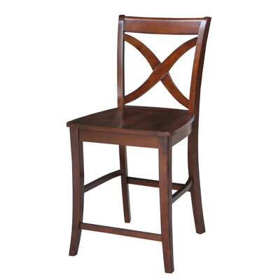 Laurier 24 Bar Stool Color: Espresso