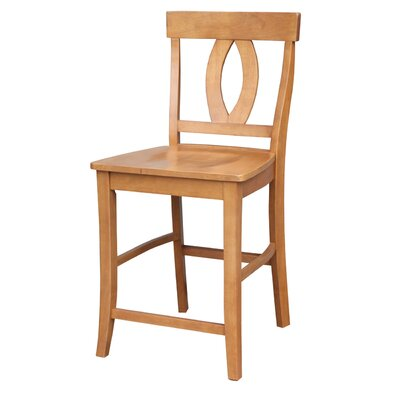 Laurier 24 Bar Stool Color: Aged Cherry