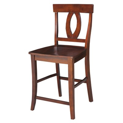 Laurier 24 inch Bar Stool Finish: Espresso