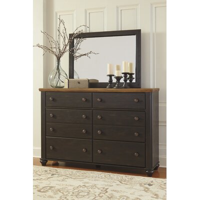 Artemesia 6 Drawer Dresser with Mirror