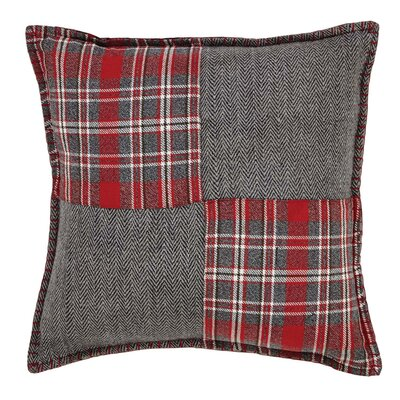 Chamblee Patchwork Cotton Throw Pillow