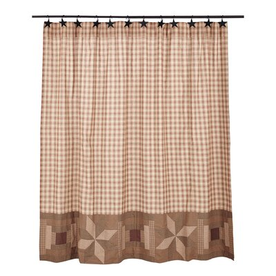 Sky Valley Cotton Shower Curtain