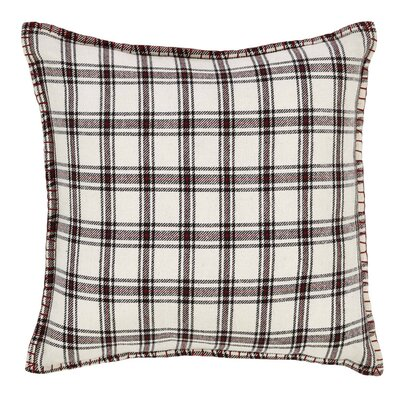 Ball Ground Plaid Throw Pillow