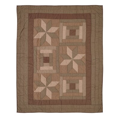 Sky Valley Quilted Cotton Throw Blanket