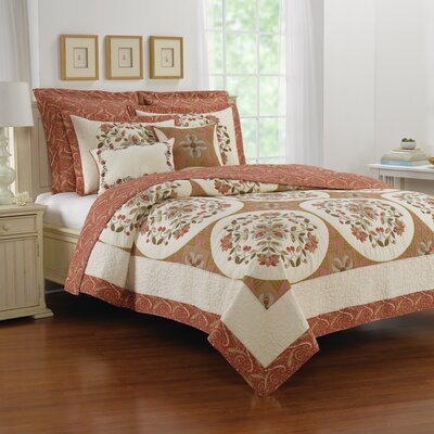 Willow City Reversible Quilt Size: King