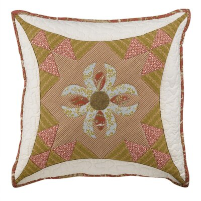 Willow City Square Decorative Cotton Throw Pillow