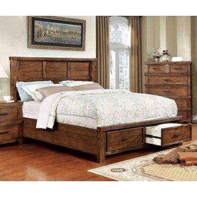 Hemenway Rustic Storage Panel Bed