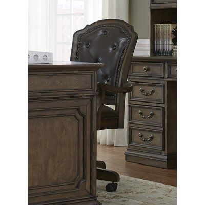 August Grove Passabe Mid-Back Desk Chair