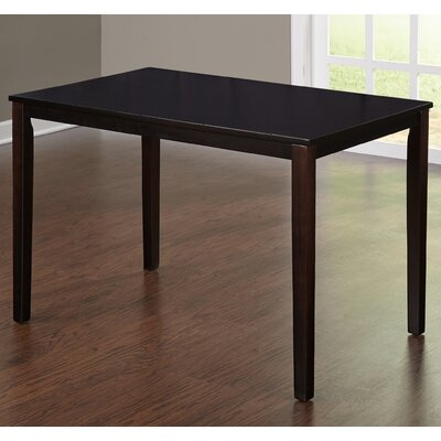 Bushman Dining Table Color: Espresso