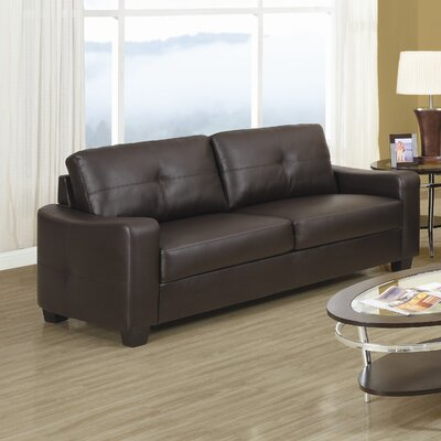 Rahr Leather Loveseat