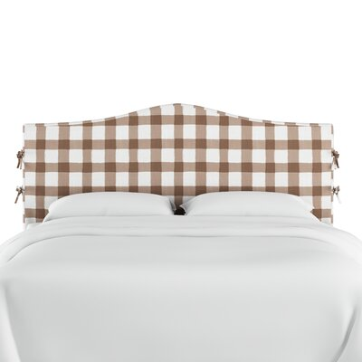 Linnet Linen Upholstered Panel Headboard Size: Twin, Color: Taupe
