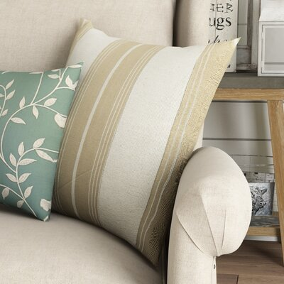 Shanna Striped Cotton Throw Pillow