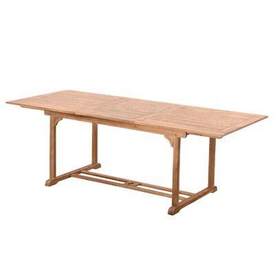 Teak Dining Table 1619 Item Image