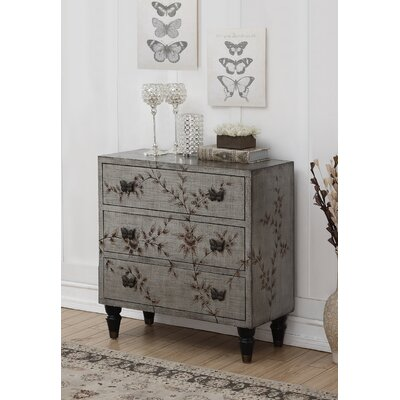 Giraud 3 Drawer Chest