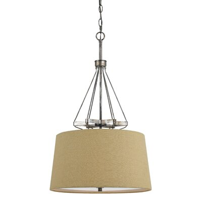 Chateau 3-Light Drum Pendant