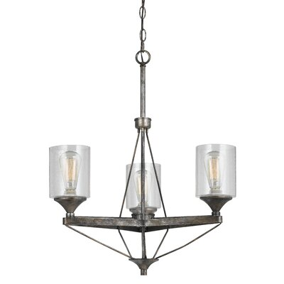 Chateau 3-Light Candle-Style Chandelier