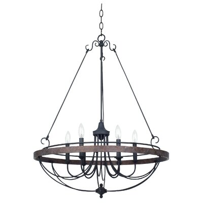 Beuvron 6-Light Candle-Style Chandelier