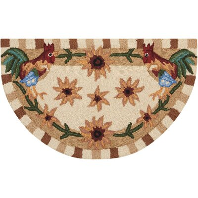 Gregory Hand-Tufted Beige/Brown Novelty Rug