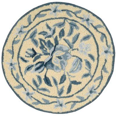Ingalls Hand-Tufted Yellow/Blue Area Rug