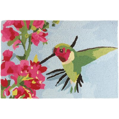 Fougeres Hummingbird and Geranium Mat